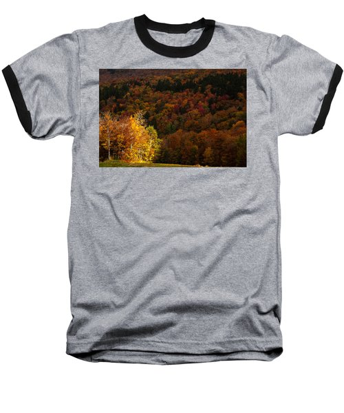 Sun Peeking Through Baseball T-Shirt