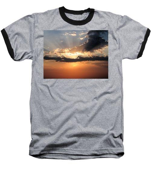 Sun Rays Baseball T-Shirt