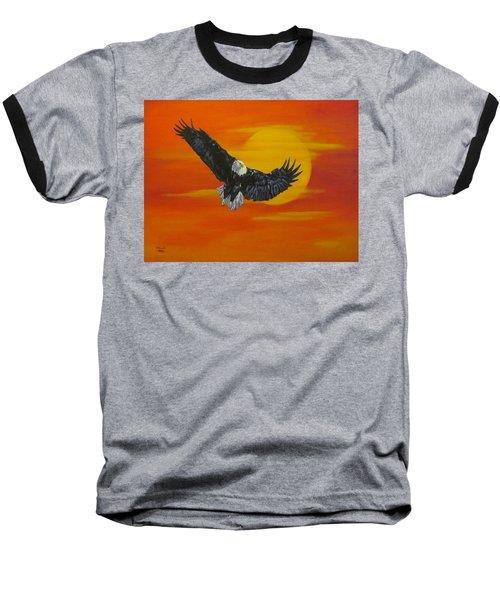 Sun Riser Baseball T-Shirt by Wendy Shoults