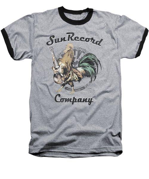 Sun - Rockin Rooster Logo Baseball T-Shirt by Brand A