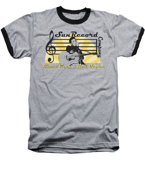 Sun - Sun Record Company Baseball T-Shirt