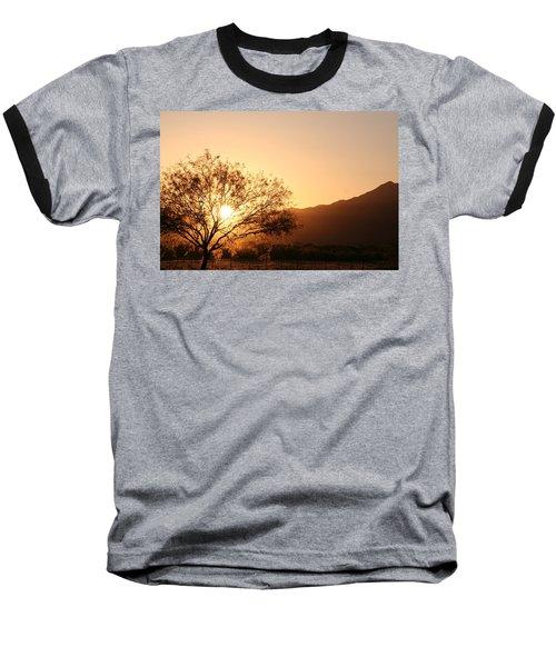 Sun Tree Baseball T-Shirt