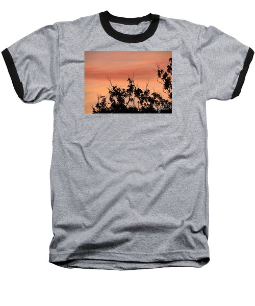 Baseball T-Shirt featuring the photograph Sun Up Silhouette by Joy Hardee