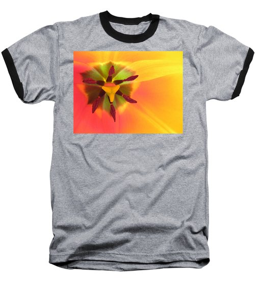 Sunburst 2 Baseball T-Shirt