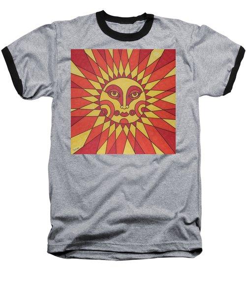 Sunburst Baseball T-Shirt by Susie Weber