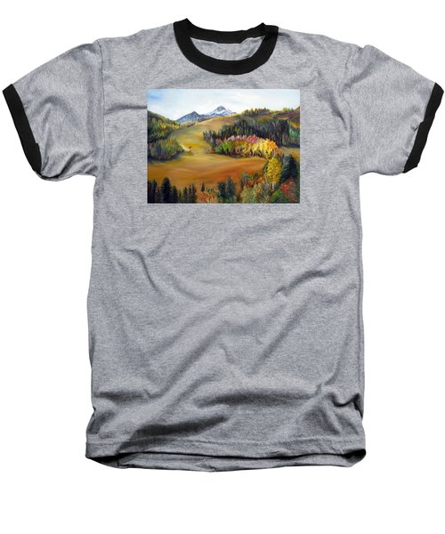 Sundance And Mt. Timpanogos Baseball T-Shirt