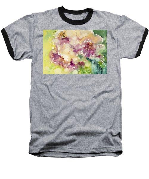 Sundappled Rose Baseball T-Shirt
