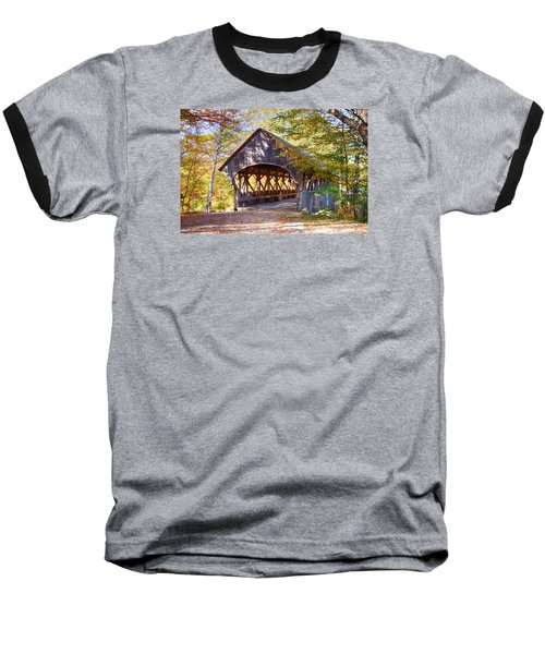 Sunday River Covered Bridge Baseball T-Shirt