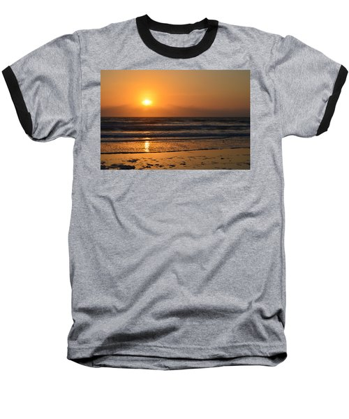 Baseball T-Shirt featuring the photograph Sundays Golden Sunrise by DigiArt Diaries by Vicky B Fuller
