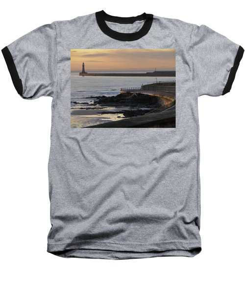 Baseball T-Shirt featuring the photograph Sunderland Sunrise by Julia Wilcox