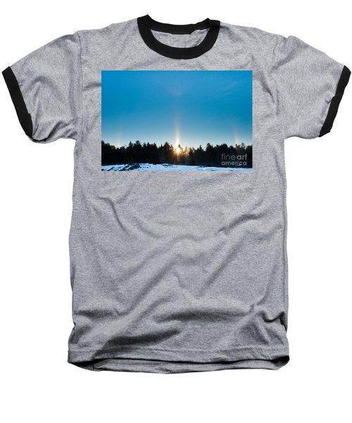 Sundog Spectacular Baseball T-Shirt by Cheryl Baxter