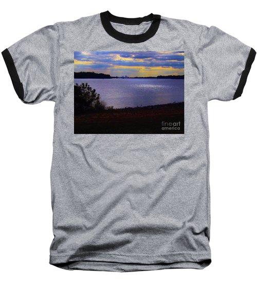 Sundown On A Cloudy Day Baseball T-Shirt
