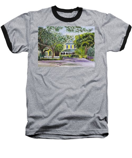 Sundy House In Delray Beach Baseball T-Shirt by Donna Walsh