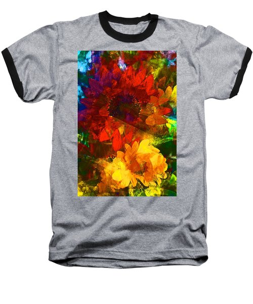 Sunflower 11 Baseball T-Shirt