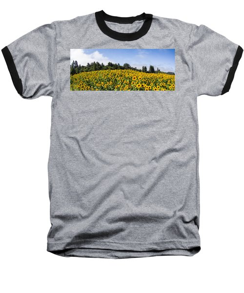 Sunflower Horizon Number 2 Baseball T-Shirt