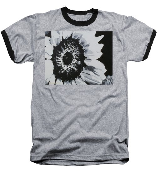 Sunflower Baseball T-Shirt by Katharina Filus