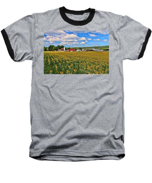 Sunflower Nirvana 17 Baseball T-Shirt