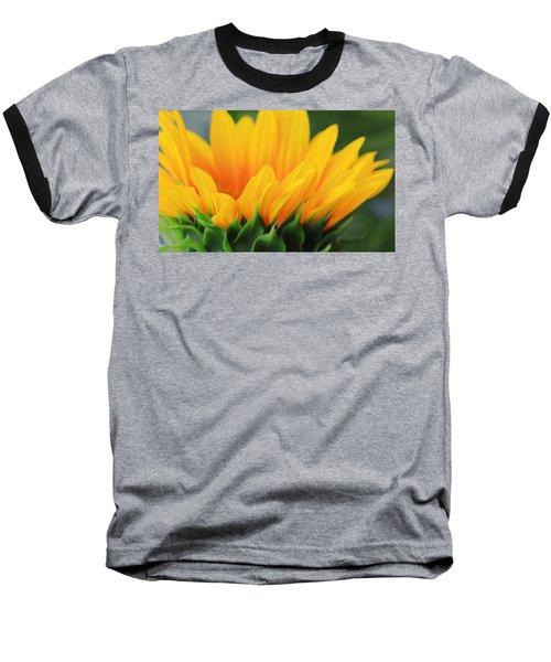 Sunflower Profile Baseball T-Shirt