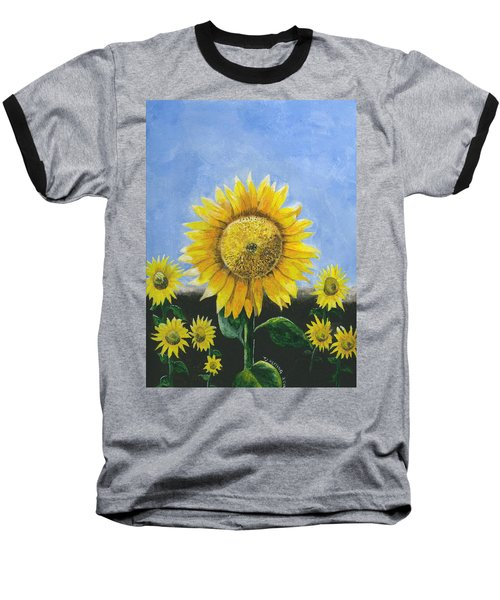 Sunflower Series One Baseball T-Shirt