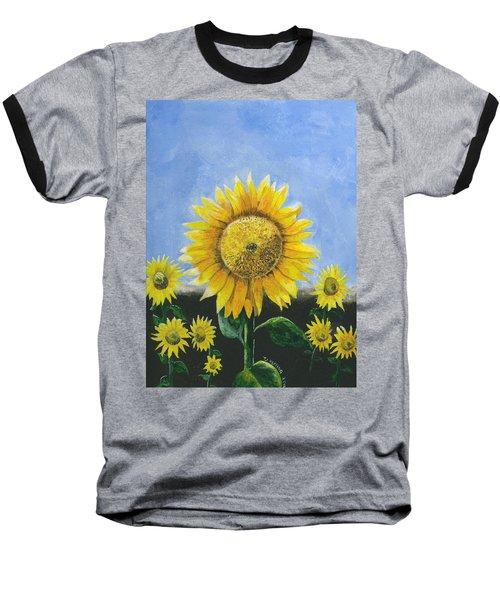 Sunflower Series One Baseball T-Shirt