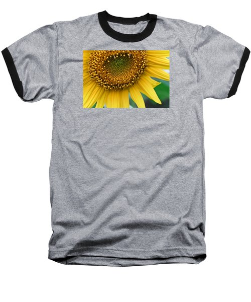 Baseball T-Shirt featuring the photograph Sunflower Smiles by Julie Andel