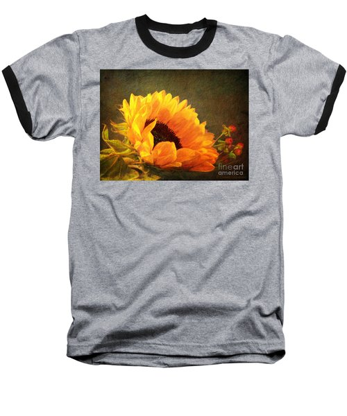 Sunflower - You Are My Sunshine Baseball T-Shirt