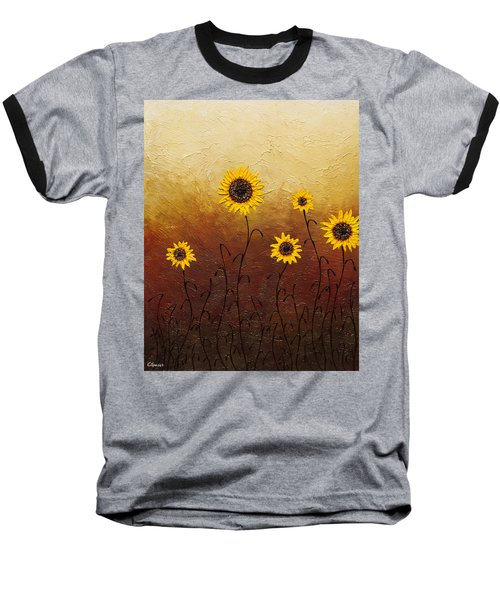 Sunflowers 1 Baseball T-Shirt