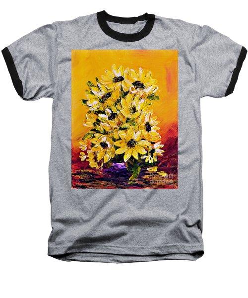 Sunflowers  No.3 Baseball T-Shirt
