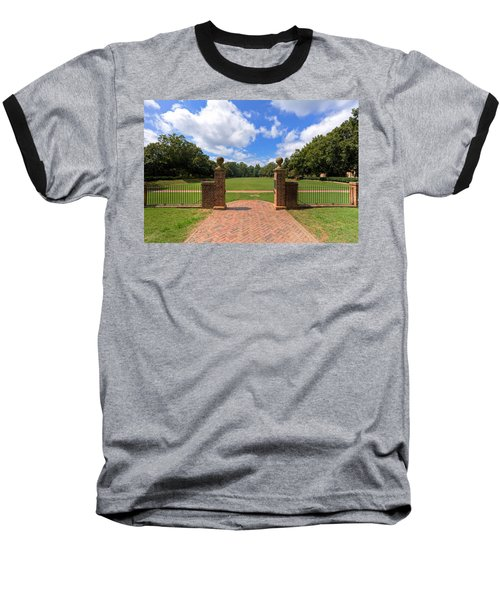 Baseball T-Shirt featuring the photograph Sunken Garden At William And Mary by Jerry Gammon