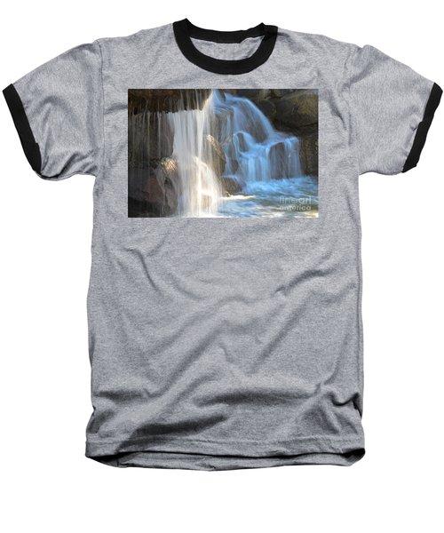 Sunlight On The Falls Baseball T-Shirt