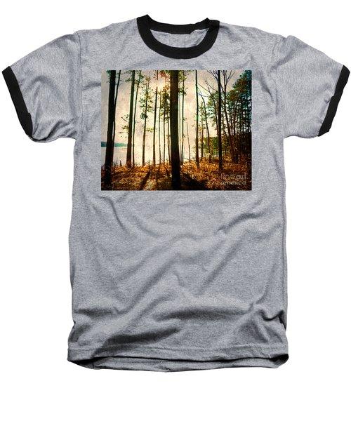 Sunlight Through The Trees Baseball T-Shirt