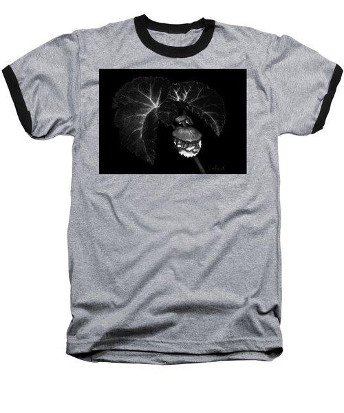 Sunlit Begonia Baseball T-Shirt