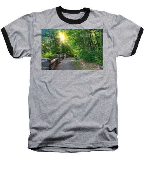 Sunlit Path Baseball T-Shirt