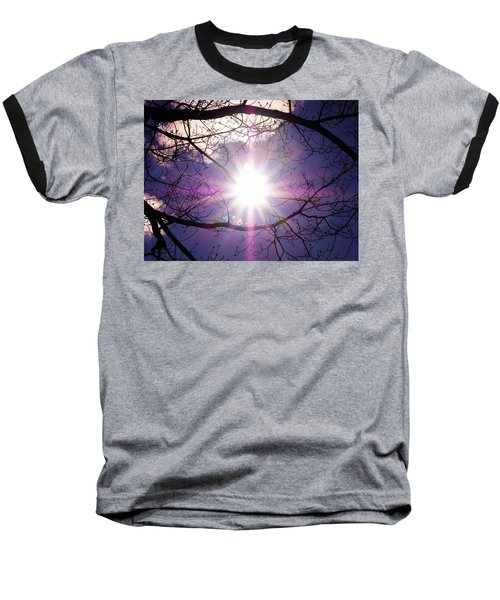 Baseball T-Shirt featuring the photograph Sunny Afternoon by Sherman Perry