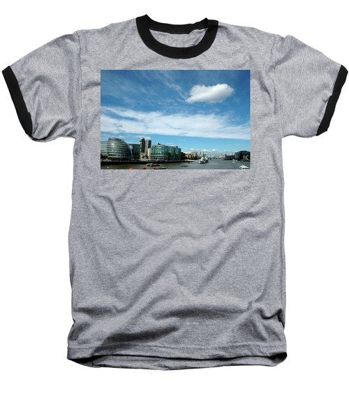 Baseball T-Shirt featuring the photograph Sunny Day London by Jonah  Anderson