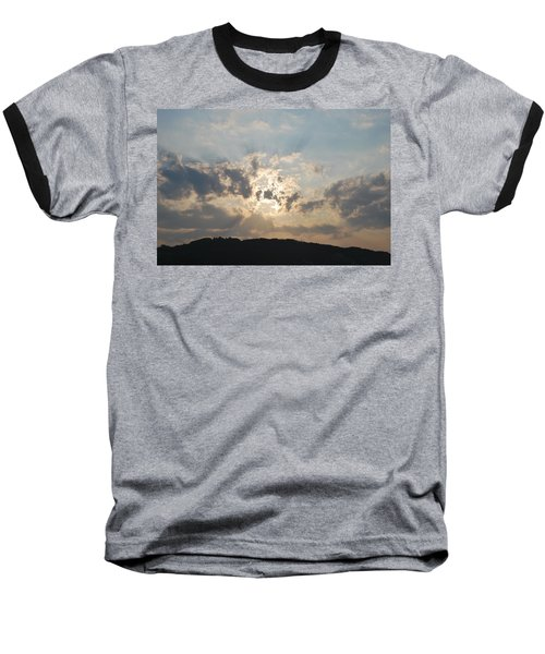 Baseball T-Shirt featuring the photograph Sunrise 1 by George Katechis