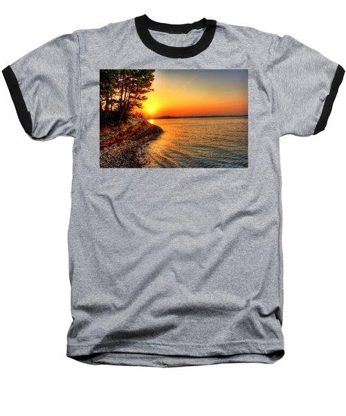 Sunrise Around The Bend Baseball T-Shirt