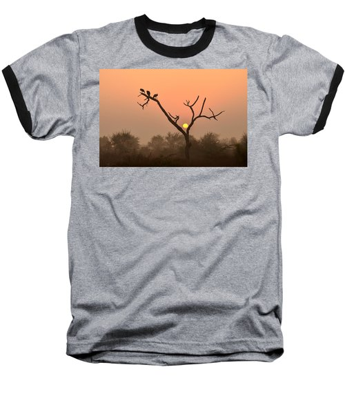Sunrise At Bharatpur Baseball T-Shirt