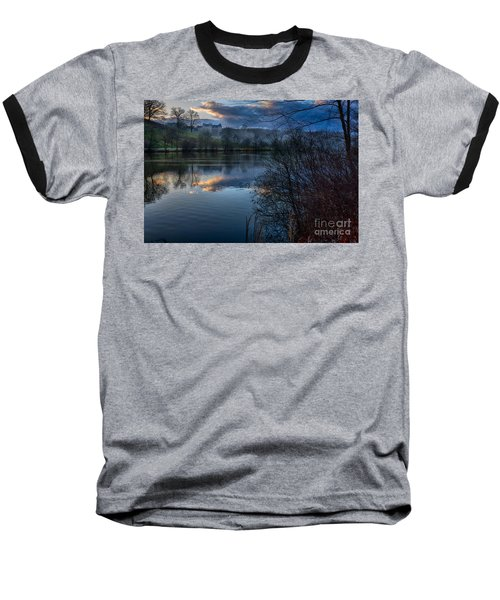 Sunrise At  Biltmore Estate Baseball T-Shirt