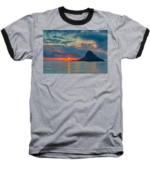 Sunrise At Kualoa Park Baseball T-Shirt
