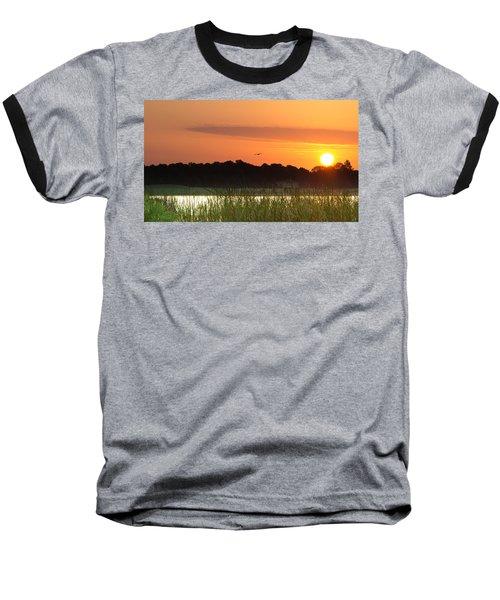 Sunrise At Lakewood Ranch Florida Baseball T-Shirt