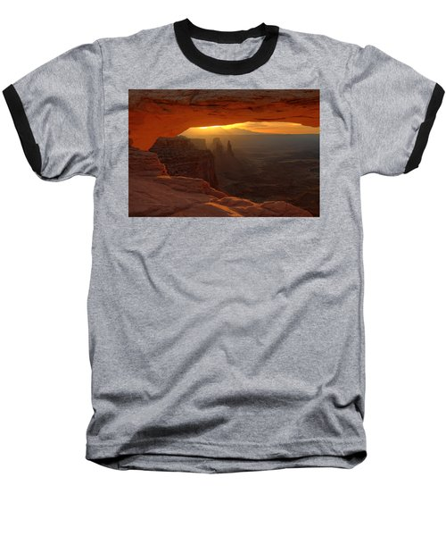 Sunrise At Mesa Arch 2 Baseball T-Shirt