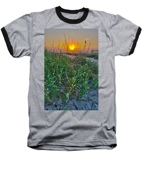 Baseball T-Shirt featuring the photograph Sunrise At Myrtle Beach by Alex Grichenko