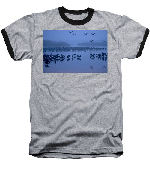 Sunrise Over The Hula Valley Israel 4 Baseball T-Shirt