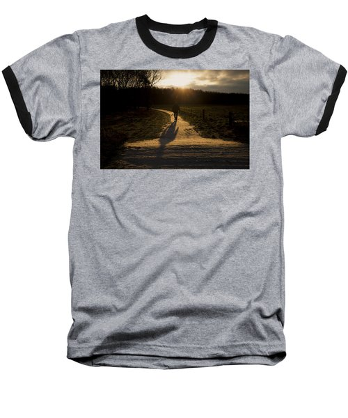 Sunrise Atmosphere Baseball T-Shirt