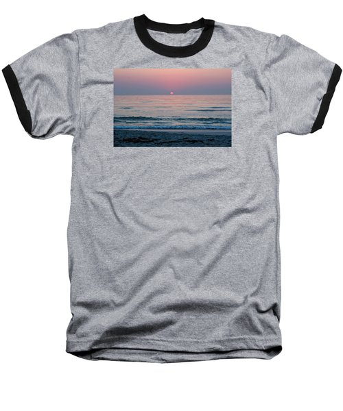 Baseball T-Shirt featuring the photograph Sunrise Blush by Julie Andel