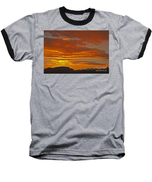 Sunrise Capitol Reef National Park Baseball T-Shirt