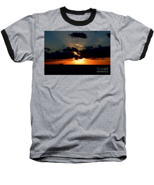 Baseball T-Shirt featuring the photograph Sunset Cruise by Gary Smith