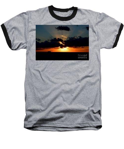 Sunset Cruise Baseball T-Shirt by Gary Smith
