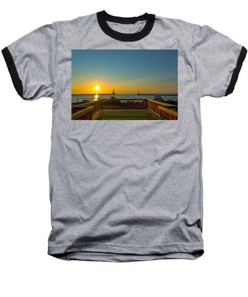 Sunrise Deck Baseball T-Shirt